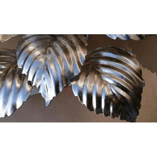 Plafonnière Gentile argento 40