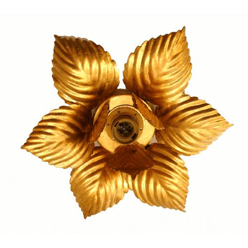 Plafonnière Gentile oro 30 cm