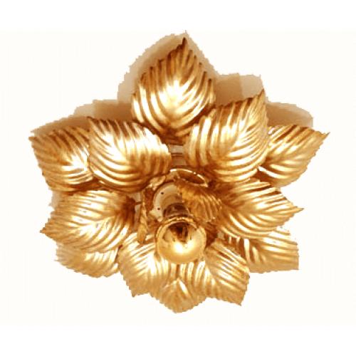 Plafonnière Gentile oro 40
