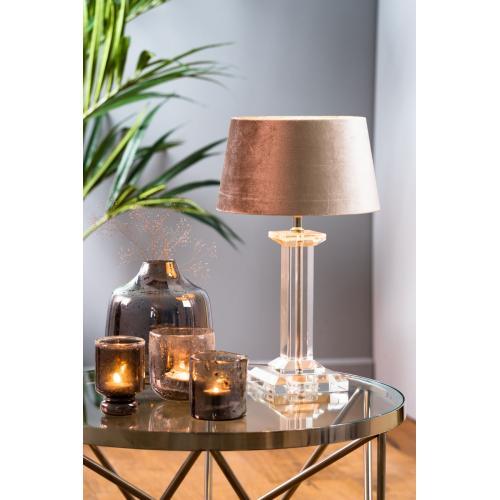 Kristallen lampvoet 34cm