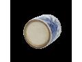 Bloempot porselein in blauw wit