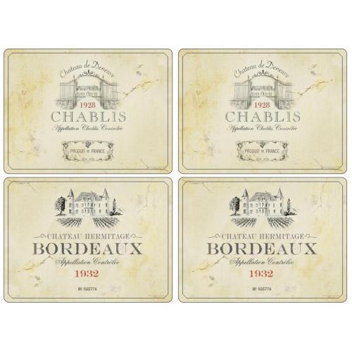Placemats Vin de France van Pimpernel