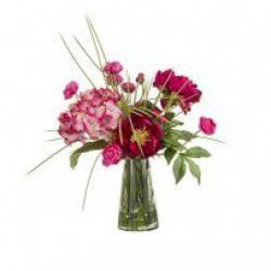 Zijde kunstbloemen