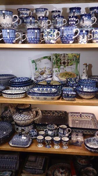 Bunzlau pool aardewerk bij van Nierop in Den Haag
